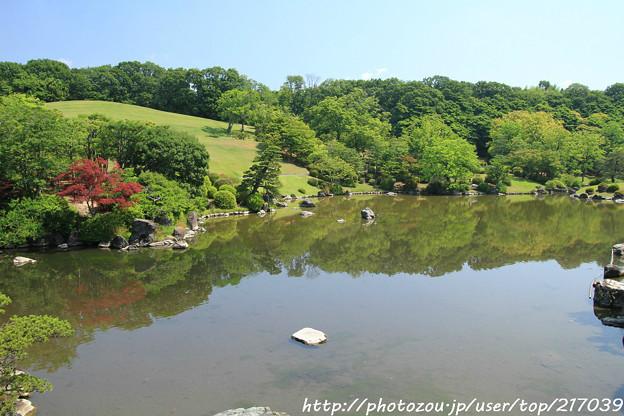 IMG_5529日本庭園・心字池