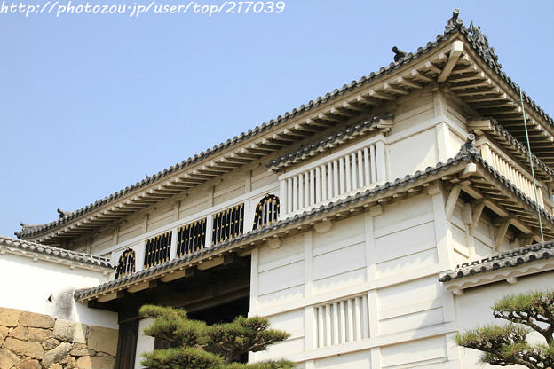 IMG_8123姫路城・菱の門