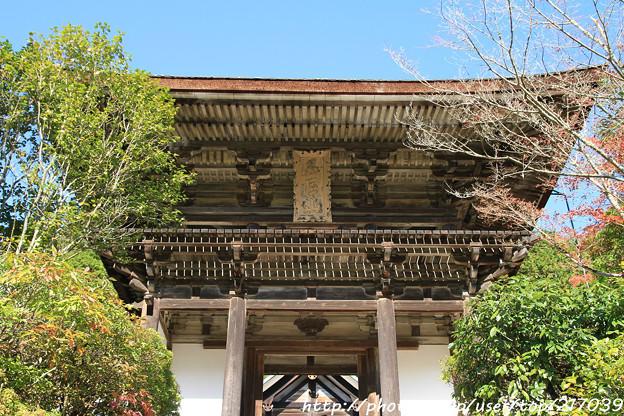 IMG_9132圓成寺・楼門(重要文化財)