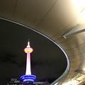写真: 京都車站 東京塔