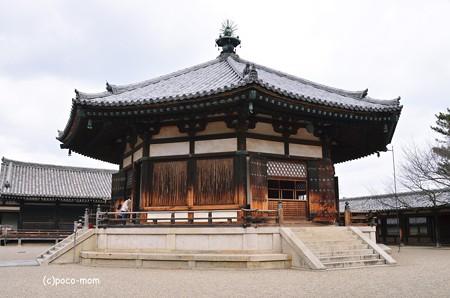 法隆寺 東院夢殿 2014年02月10日_DSC_0365