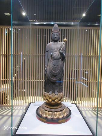 長浜市 長浜城歴史博物館蔵 聖観音菩薩立像IMG_0433