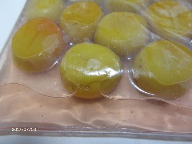 写真: 梅酢があがる IMG_1267