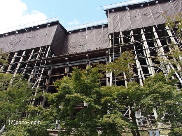 清水寺 本堂改修工事