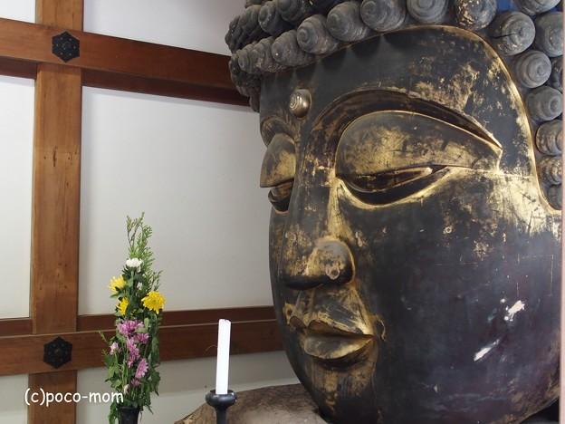 Photos: 知恩院勢至堂前のお堂のお仏像P4140136