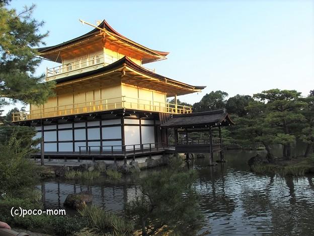 金閣寺 釣り殿・漱清
