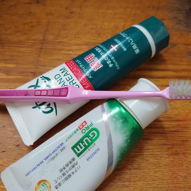 歯磨きクリームとハンドクリームを間違えて口にした!