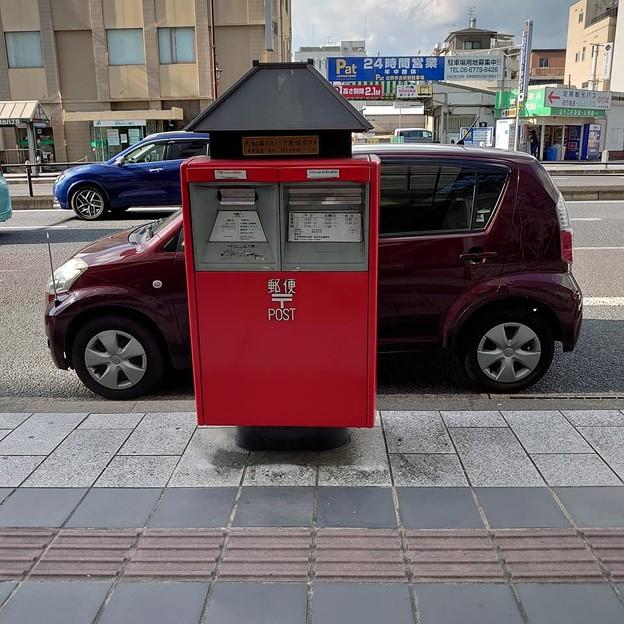 奈良の郵便ポスト