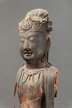 大阪市立美術館 仏像 中国・日本 木造観音菩薩立像 随時代 堺市立博物館