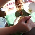 Photos: お孫 二刀流で茶をたてる 146272638_3758078794284783_8675563687577595332_n (2)