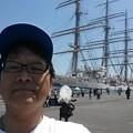 日本丸、24年ぶりの宮崎寄港23