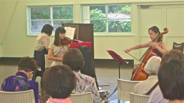 杉村惇美術館・大講堂のコンサート