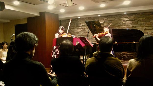 J.S.バッハ作曲 2つのヴァイオリンのための協奏曲 ニ短調BWV1043 より第2、3楽章