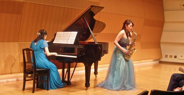 イベール作曲 アルトサクソフォーンとピアノのための室内小協奏曲 より第2楽章