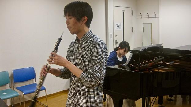 ドニゼッティ作曲 オーボエソナタ へ長調/リハーサル