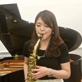 Photos: イベール作曲 アルトサクソフォーンとピアノのための室内小協奏曲 より第2楽章/リハーサル