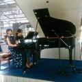 Photos: プーランク作曲 ピアノ連弾のためのソナタ/リハーサル