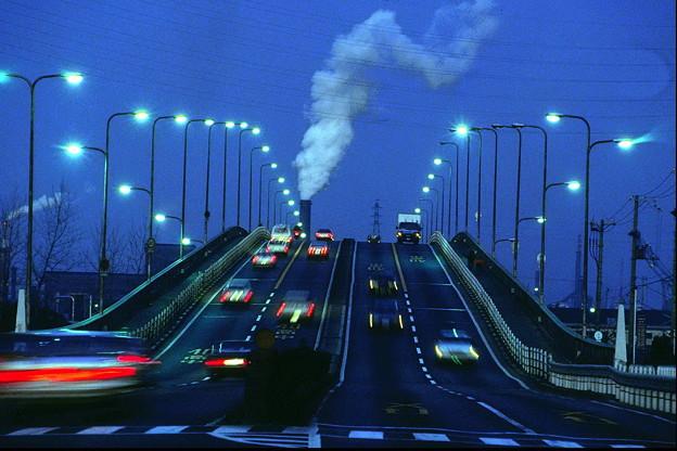 工業地帯の黄昏