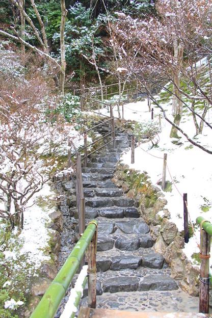 大文字山階梯