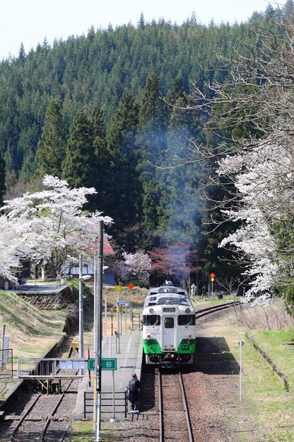 Photos: 只見線・春