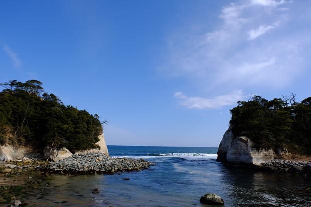 写真: 高戸小浜海岸