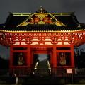 写真: 旧台徳院霊廟惣門