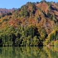 Photos: 錦秋の只見川