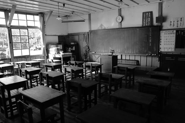 Photos: 追憶の教室