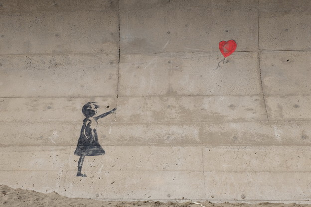Banksy Girl with Balloon?