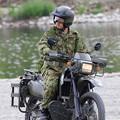 Photos: 偵察用オートバイ