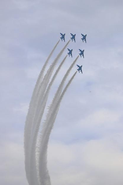 いきいき茨城ゆめ国体開会式祝賀飛行1