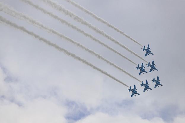 いきいき茨城ゆめ国体開会式祝賀飛行3
