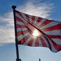 Photos: いずも自衛艦旗