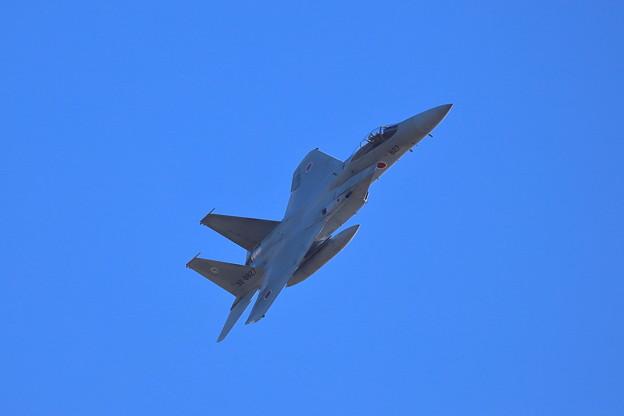 迫るF-15J