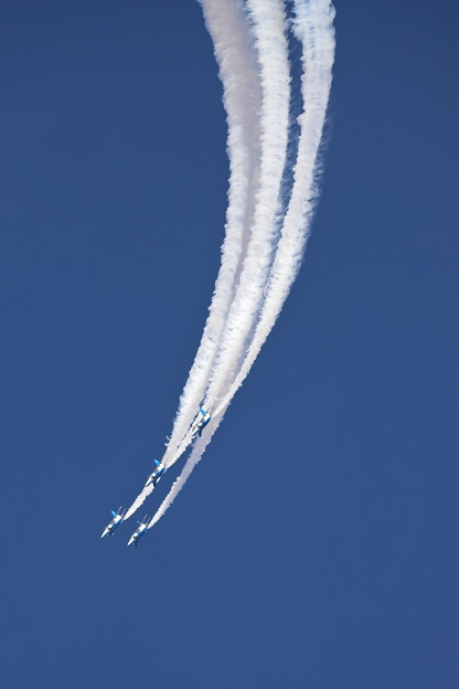 Blue Impulse in Hyakuri 8