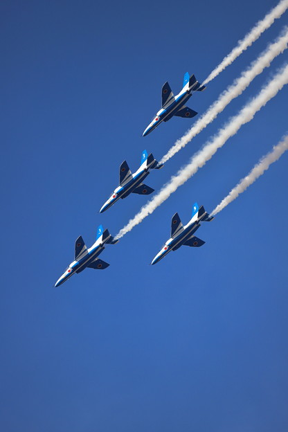 Blue Impulse in Hyakuri 9