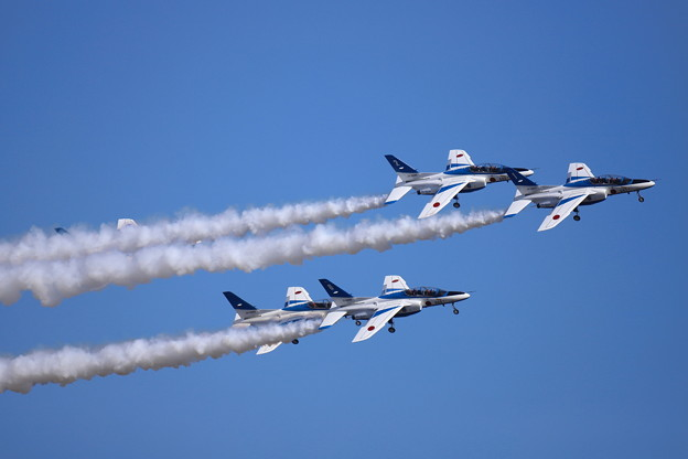 Blue Impulse in Hyakuri 10