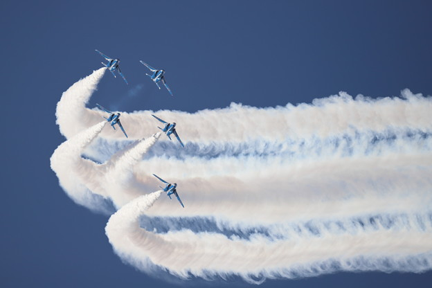 Blue Impulse in Hyakuri 12