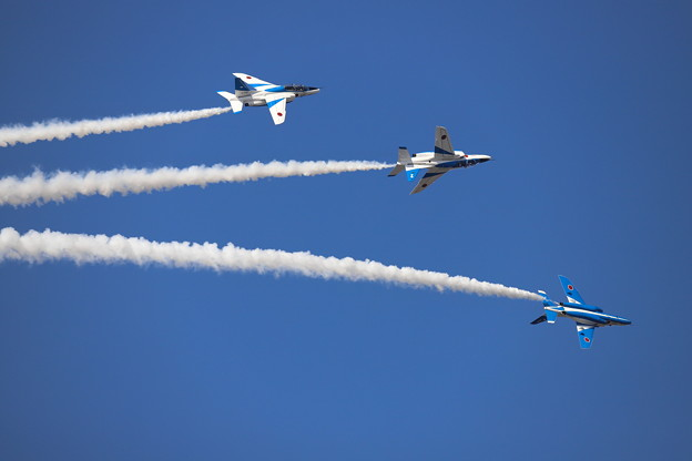 Blue Impulse in Hyakuri 14