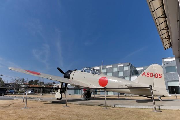 零式艦上戦闘機二一型(実物大模型)