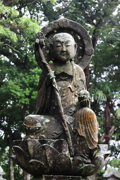 享保の延命地蔵菩薩半跏像