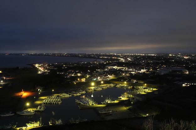 港町の黄昏