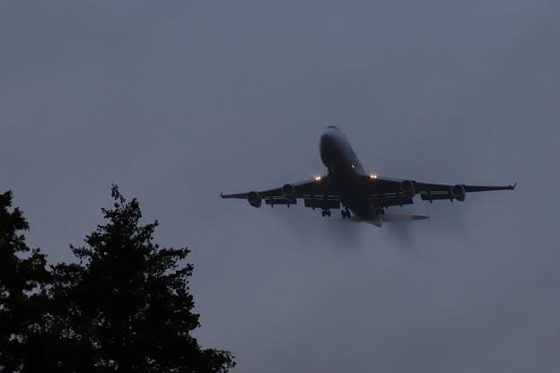 Photos: 着陸直前