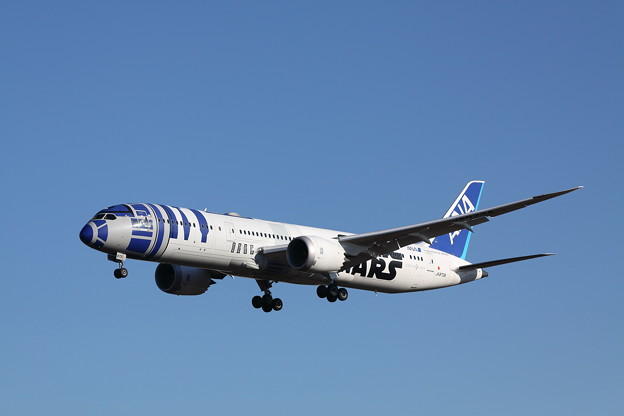 Photos: R2-D2 ANA JET