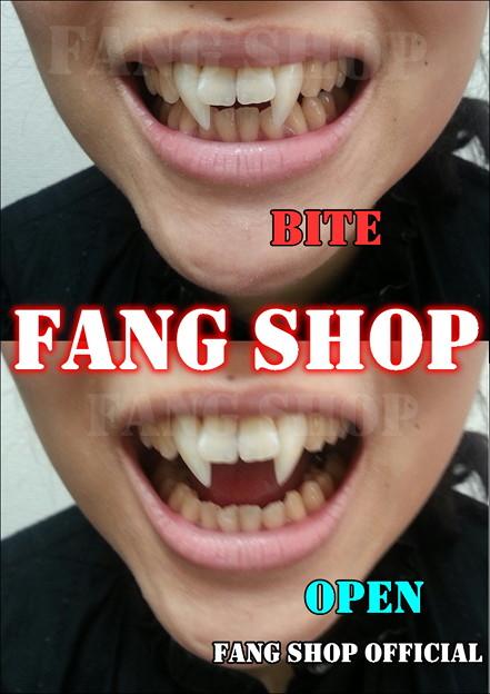 FANG SHOP 付け牙 S-0184(サイドファングーtype)