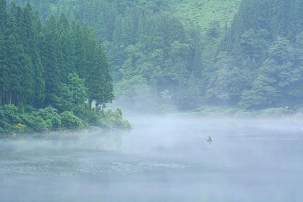 Photos: 漕ぐや川霧奥会津
