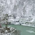 Photos: 雪峡ヲ行ク