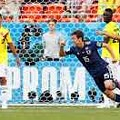 ロイター…サッカーの日本代表は19日、ワールドカップ(W杯)ロシア大会1次リーグH組の初戦でコロンビアを2─1で破った。