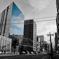 Photos: Glass wall