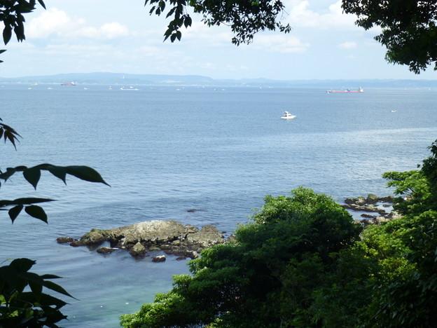 猿島の海@横須賀20150607